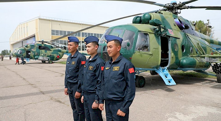 Kyrgyzstan Armed Forces Mi-8 Helicopter Crashes In The Alay District