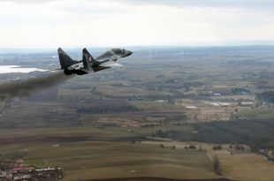 Polish MiG-29 Fighter Jet Accidentally Fired On Another Fighter Jet