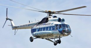 Russian National Guard Mil Mi-8 Helicopter Crashes Near St. Petersburg Killing 3 Onboard