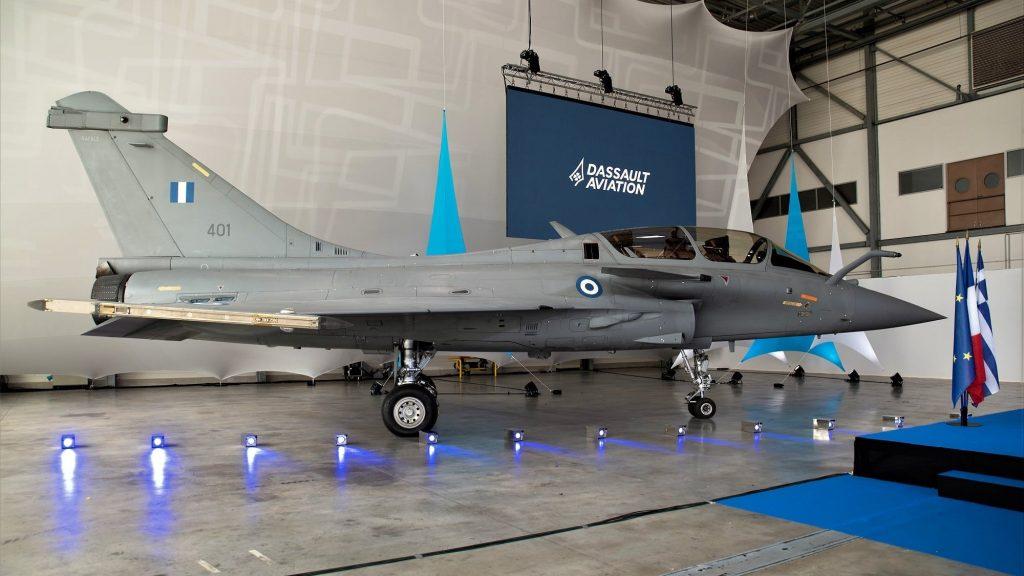 Greece Receives First Dassault Rafale Fighter Jet