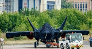 Glimpse Of New Russian Single-engine Stealth Fighter Jet