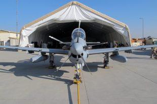 Philippine Air Force A-29B Super Tucano Aircraft Damaged During Landing At Clark Air Base