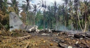 Philippine Air Force C-130 Hercules Crashes With 96 People Aboard