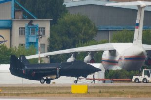 Russia's New Stealth Fighter Jet Spotted Near Moscow