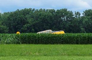 World War II-era T-6 Harvard Aircraft Crashes at Geneseo Airport During Airshow