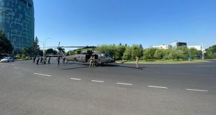 U.S. Army UH-60 Black Hawk Helicopters Made Forced Landing At Charles de Gaulle Place