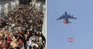 USAF Investigating Afghan Civilian Deaths During C-17 Taking off From Kabul