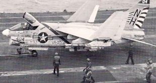 When Pilot Mistakenly Landed A-7 Corsairs On The Wrong Aircraft Carrier