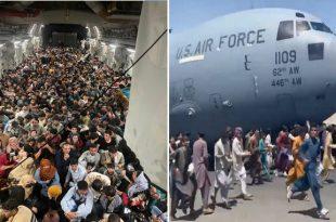 Reach 871: U.S. Air Force C-17 Globemaster III Flight That Evacuated 640 Afghans From Kabul