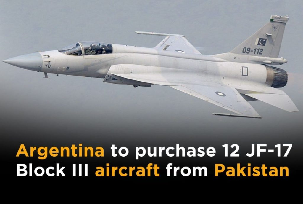 Argentina Plans To Buy 12 JF-17 Thunder Block III Fighter Jets For $664 Million