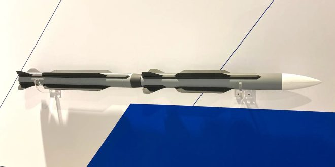 Here's Boeing New Two-Stage Long-Range Air-To-Air Missile Concept
