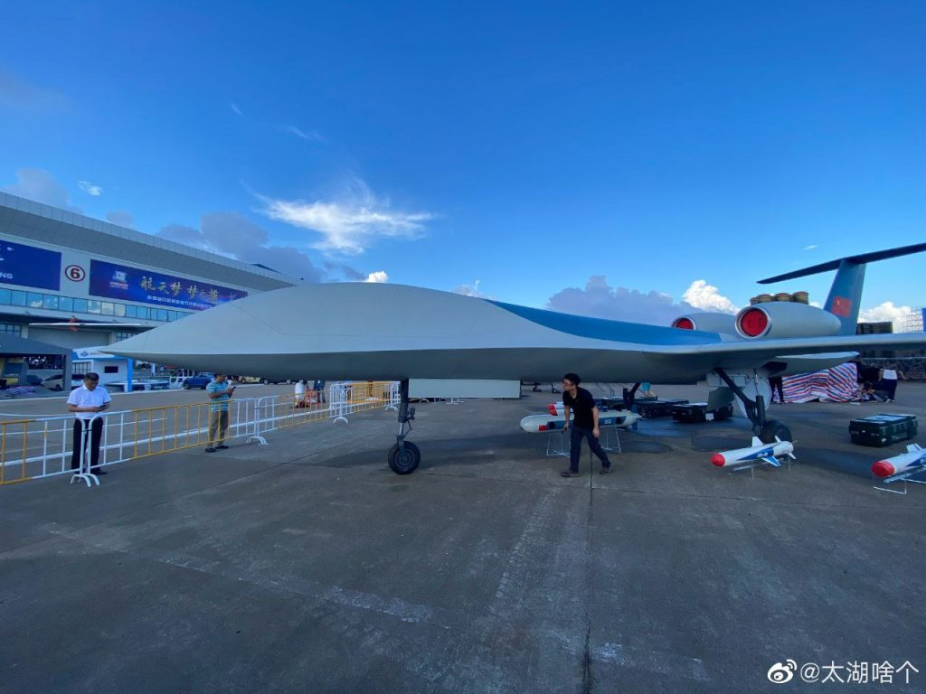 China Unveil New CH-6 Twin-Jet Combat Drone at Zhuhai Airshow