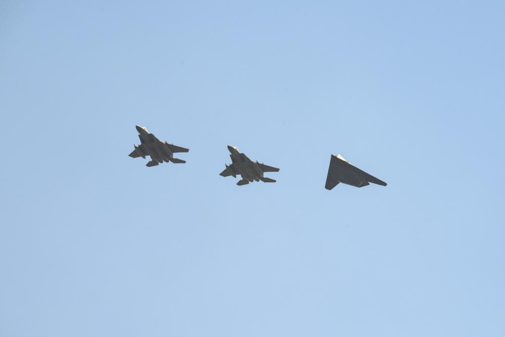 USAF Sends Retired F-117s to California For Air Combat Training Against F-15s