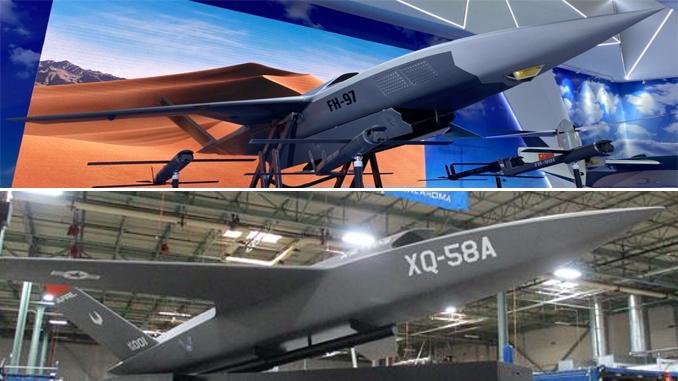 China FH-97 Drone Mimics XQ-58A Valkyrie UCAV Concept