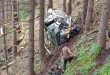Indian Army HAL Cheetah Helicopter Crashes In J&K