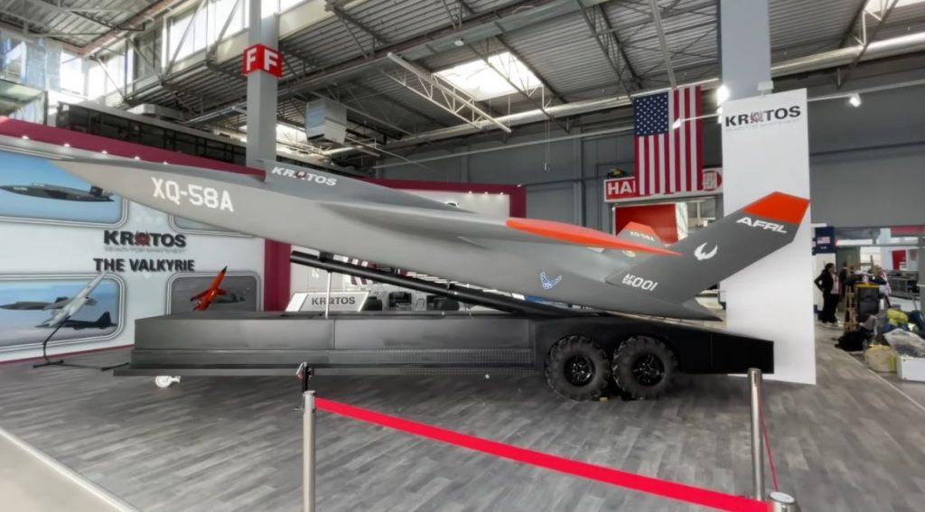 Kratos Unveils XQ-58A Valkyrie UCAV At MSPO 2021