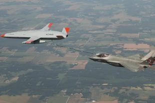 MQ-25 Stingray Drone Aerial Refuels F-35 For The First Time