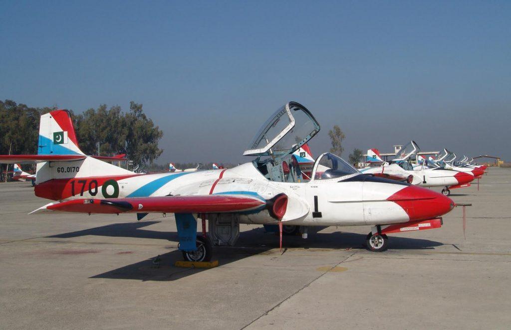 PAF T-37 Trainer Jet Crashes Near Mardan