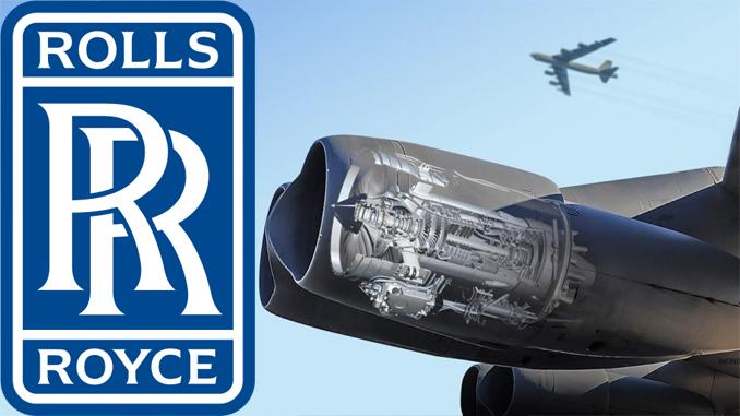 Rolls Royce To Supply 650 New F130 Turbofans Engines For B-52 Bomber Fleet