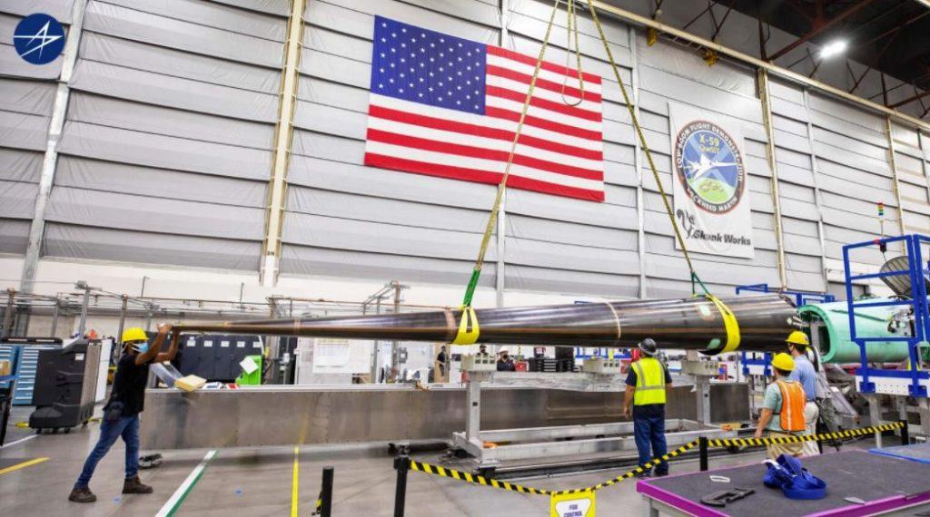 Lockheed Martin Unveils Prototype Of X-59 QueSST Supersonic Plane