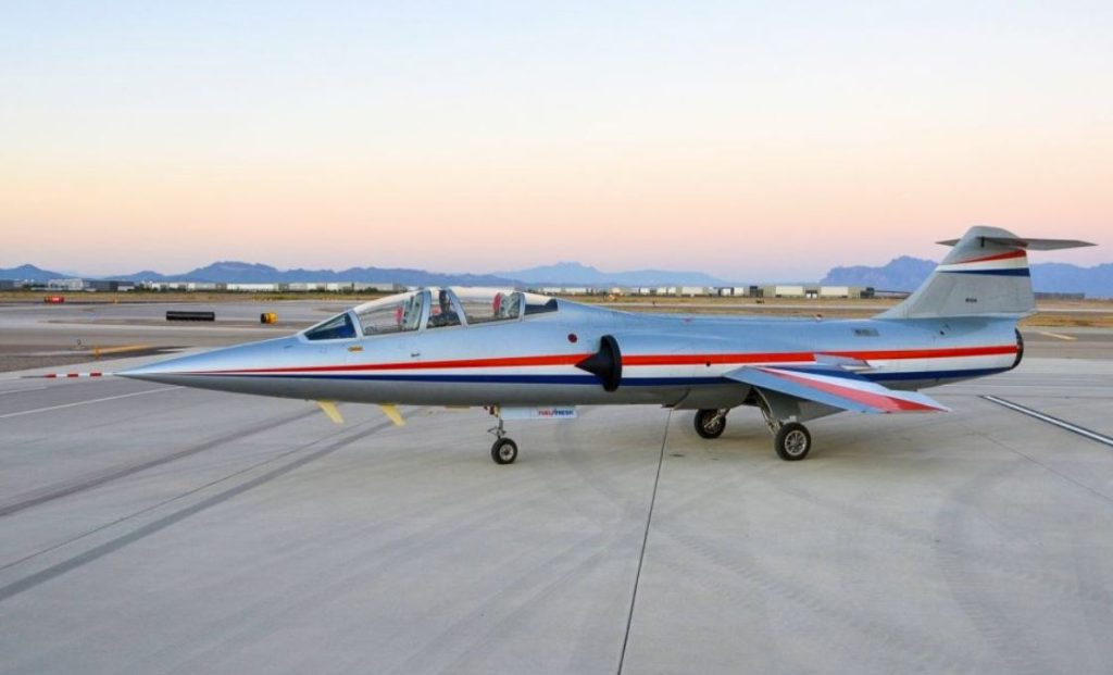 Cold War-era F-104 Starfighter For Sale For $850,000