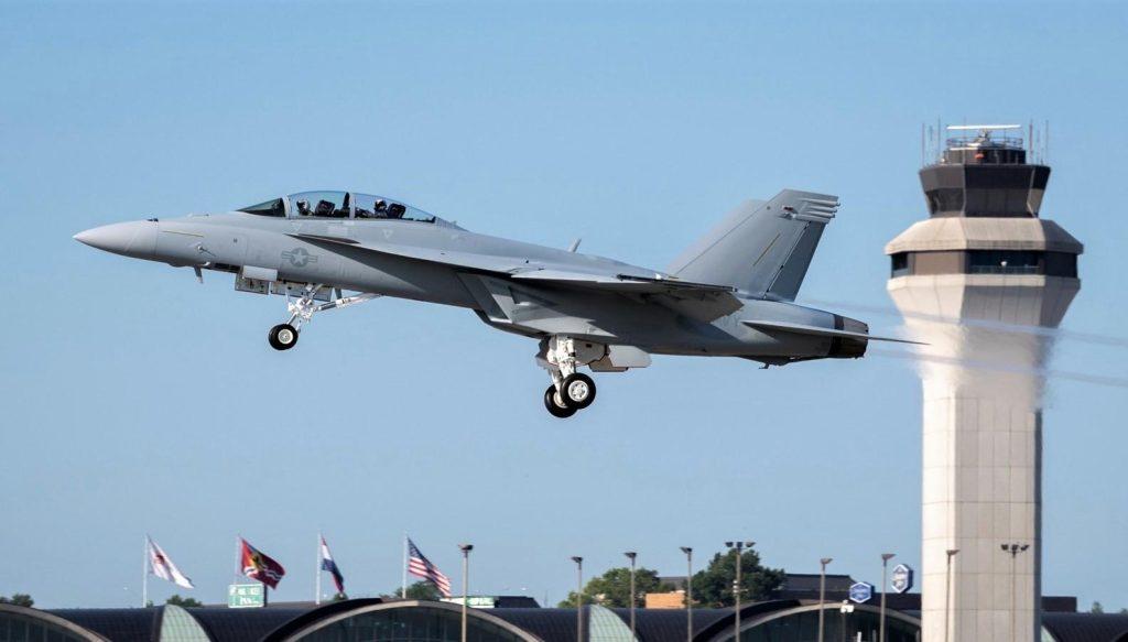 U.S. Navy Receives First F/A-18 Super Hornet Block III Fighter Jet