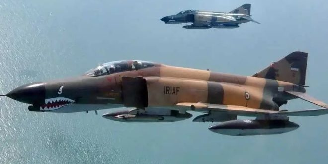 Iran F-4 Phantoms Equipped With Chinese Missiles to Hunt Ships