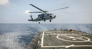 Royal Australian Navy MH-60R Helicopter Crashes In Philippine Sea