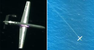 Video Shows Plane Shooting Down Drone With A High-powered Laser